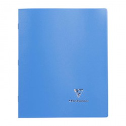 Clairefontaine Cahier Koverbook, 210 x 297 mm, séyès, bleu