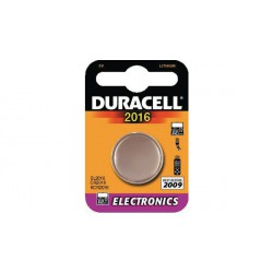 Pile-bouton Lithium 3V 72mAh CR 2016 Duracell
