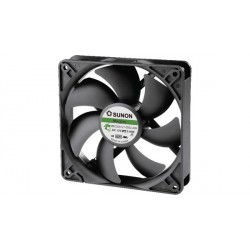 Ventilateur axial 120x120x25 mm 184 m³/h 12 VDC