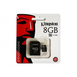 MicroSDHC 8GB Kingston CL4 Blister