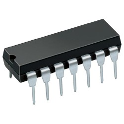 Amplificateurs opérationnels Quad 3 MHz DIL-14 TL074CN