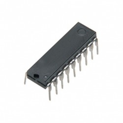 Microcontroleur Microchip PIC16F88-I/P