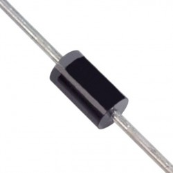 Diode transil bidirectionnelle 15.3V 1500W DO201