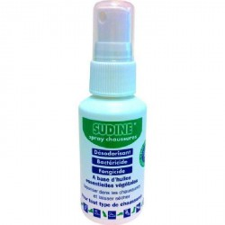Sudine-Spray assainissant chaussures rechargeable - 50 ml