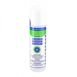 Sudine-Spray assainissant chaussures rechargeable - 125 ml