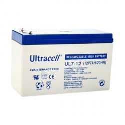 UL7-12 Batterie au plomb 12 V 7 Ah Ultracell
